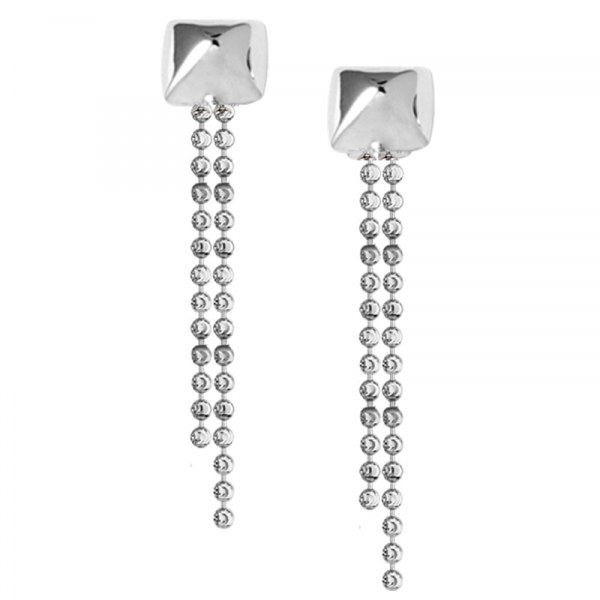 Sterling Silver Earrings by Frederic Duclos